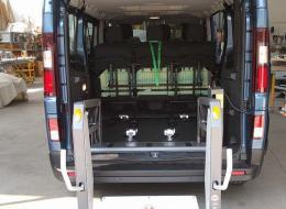Allestimento per il trasporto di persone disabili