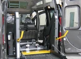 Allestimenti per il trasporto di persone disabili